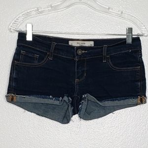 Gilly Hicks Cheeky Stretch Cutoffs Jean Shorts